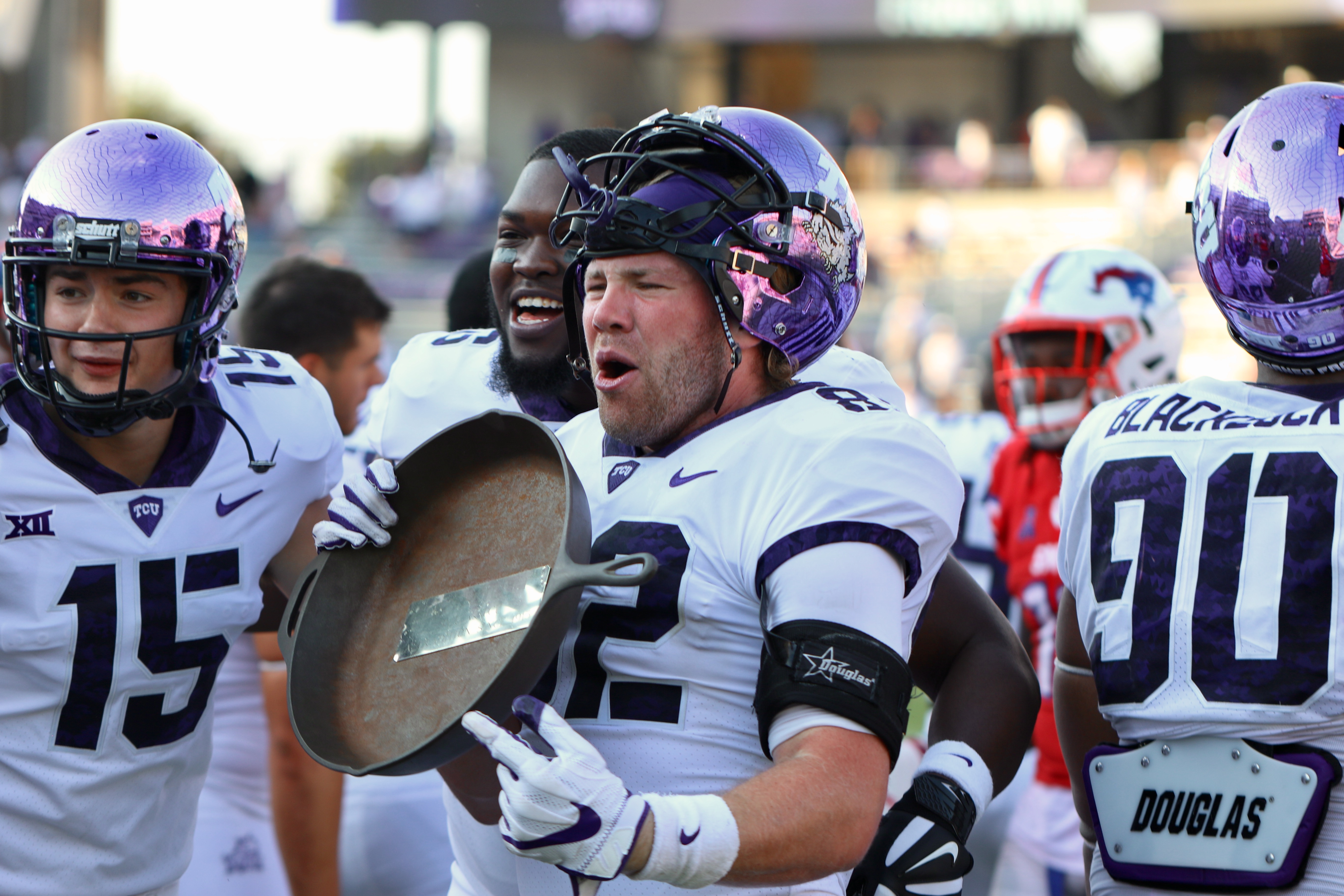 WATCH:Patterson readies for the Battle for the Iron Skillet