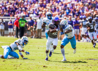 Horned Frogs roll past Southern in season-opener, 55-7
