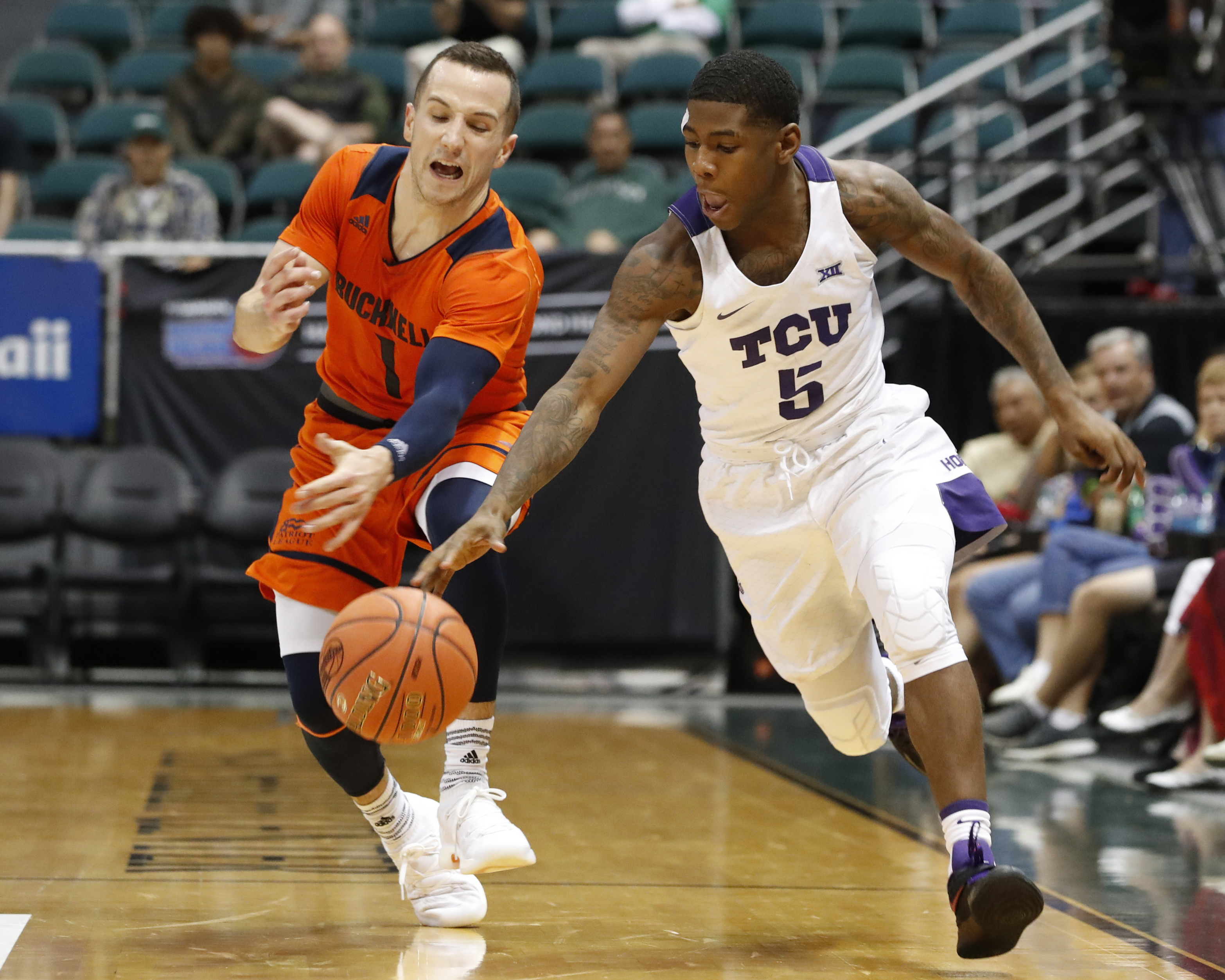 TCU advances to championship of Hawaii tournament with seventh-straight win