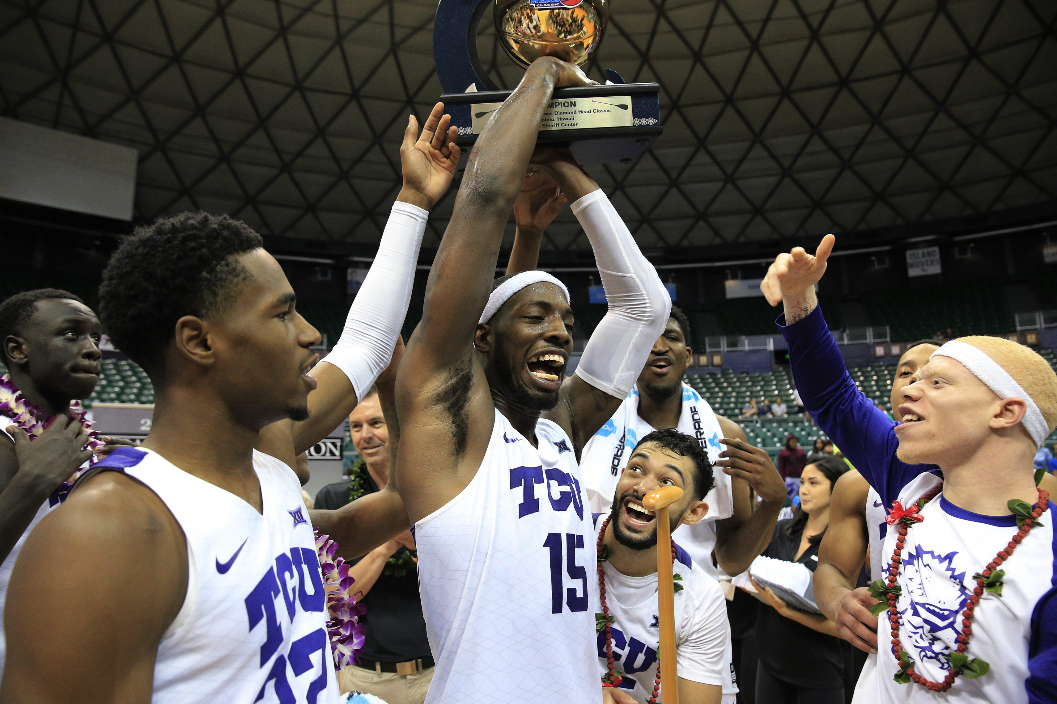 WATCH: TCU wins Diamond Head Classic, Robinson earns Most Outstanding Player honors