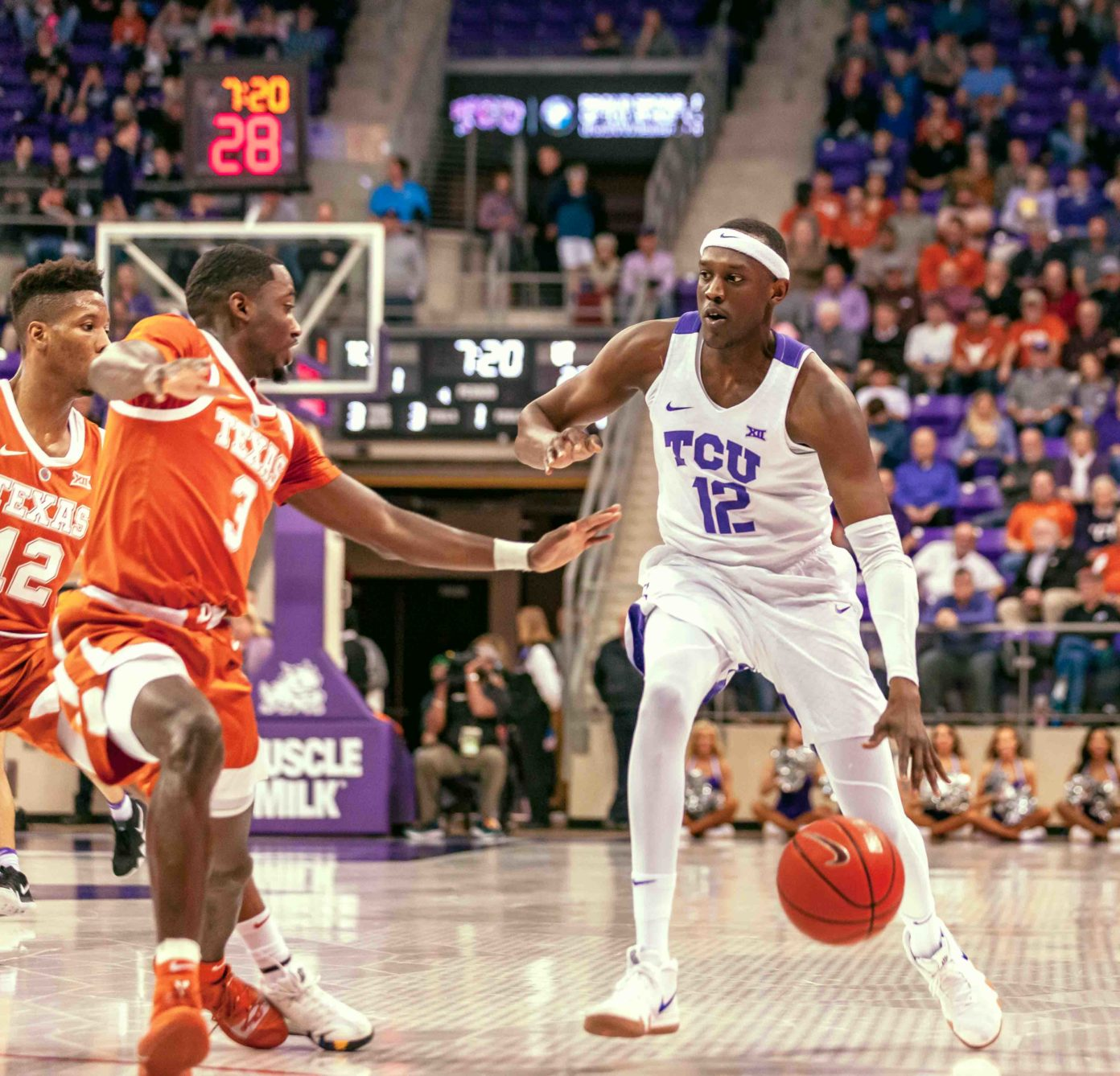 Noi's return opens up Horned Frogs' offense in fourth-consecutive home win against Texas
